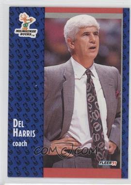 1991-92 Fleer #115 - Del Harris