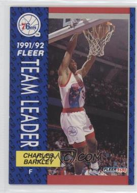 1991-92 Fleer #391 - Charles Barkley