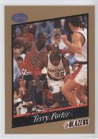 Terry Porter, Michael Jordan
