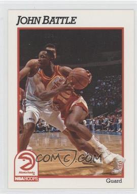 1991-92 NBA Hoops - [Base] #1 - John Battle