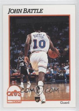 1991-92 NBA Hoops - [Base] #347 - John Battle