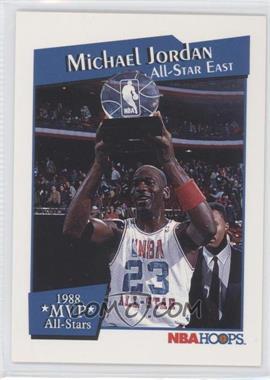 1991-92 NBA Hoops All-Star MVPs #IX - Michael Jordan