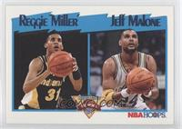 Reggie Miller, Jeff Malone
