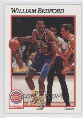 1991-92 NBA Hoops #360 - William Bedford