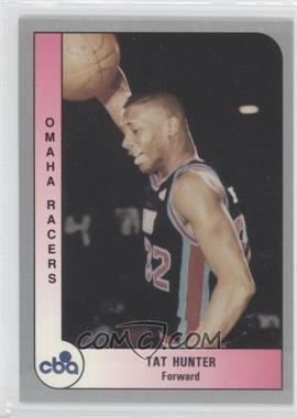 1991-92 ProCards CBA - [Base] #193 - Tat Hunter