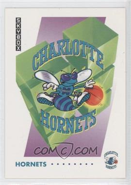 1991-92 Skybox - [Base] #353 - Charlotte Hornets Team