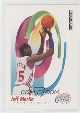 1991-92 Skybox #128 - Jeff Martin