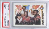 The Chicago Bulls Starting Team (Michael Jordan, Scottie Pippen, Horace Grant, …