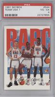 Team USA (Chris Mullin, Charles Barkley, David Robinson) [PSA 4]