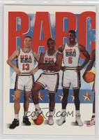 Team USA (Chris Mullin, Charles Barkley, David Robinson)