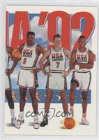 Team USA (Patrick Ewing, Larry Bird, Scottie Pippen)