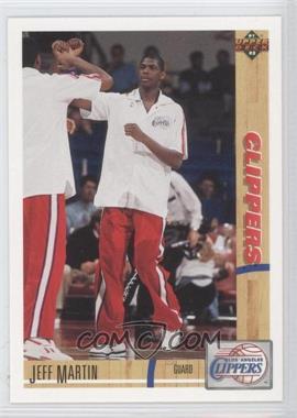 1991-92 Upper Deck - [Base] #162 - Jeff Martin