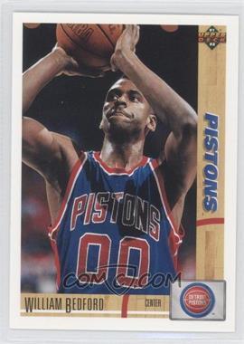 1991-92 Upper Deck - [Base] #183 - William Bedford