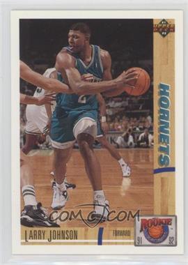 1991-92 Upper Deck - Rookie Standouts #R26 - Larry Johnson
