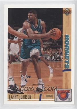 1991-92 Upper Deck Rookie Standouts #R26 - Larry Johnson