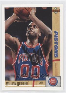 1991-92 Upper Deck #183 - William Bedford