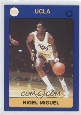 1991 Collegiate Collection UCLA #95 - Nigel Miguel