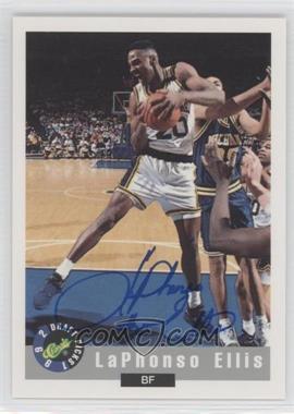 1992-93 Classic Draft Picks Autographs #LAEL - LaPhonso Ellis