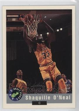 1992-93 Classic Draft Picks Promos #1 - Shaquille O'Neal /10000