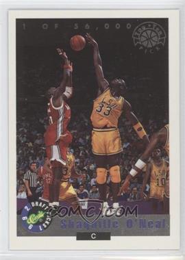 1992-93 Classic Draft Picks Top Ten Pick #LP1 - Shaquille O'Neal /56000