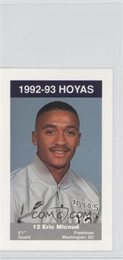 1992-93 Coca-Cola Georgetown Hoyas Kids & Cops Police - [Base] #13 - [Missing]