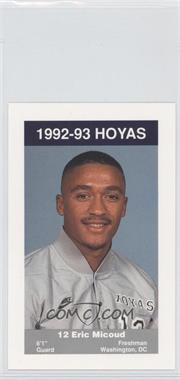 1992-93 Coca-Cola Georgetown Hoyas Kids & Cops Police [???] #13 - [Missing]