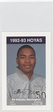 1992-93 Coca-Cola Georgetown Hoyas Kids & Cops Police [???] #7 - Othella Harrington