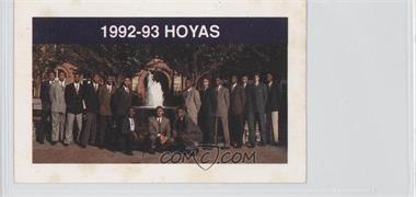 1992-93 Coca-Cola Georgetown Hoyas Kids & Cops Police [???] #N/A - Georgetown Hoyas Team