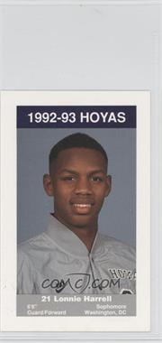 1992-93 Coca-Cola Georgetown Hoyas Kids & Cops Police [???] #N/A - [Missing]