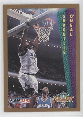 1992-93 Fleer - [Base] #298 - Shaquille O'Neal