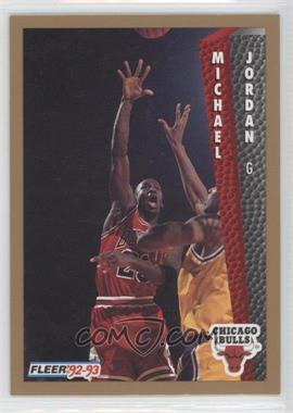 1992-93 Fleer - Drake's #7 - Michael Jordan
