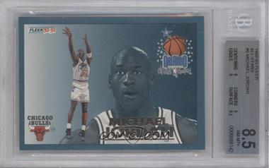 1992-93 Fleer All-Stars #6 - Michael Jordan [BGS 8.5]