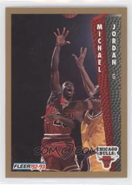 1992-93 Fleer Drake's #7 - Michael Jordan