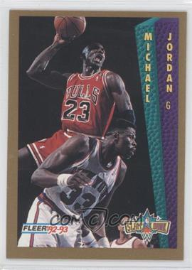 1992-93 Fleer Tony's Pizza #MIJO - Michael Jordan