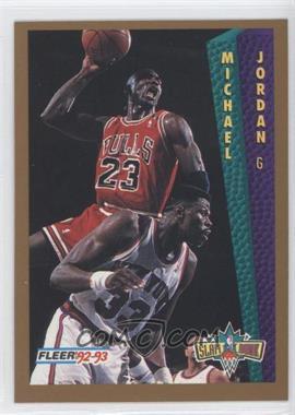 1992-93 Fleer Tony's Pizza #MIJO - Michael Jordan