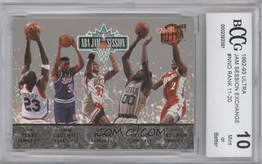 1992-93 Fleer Ultra NBA Jam Session #N/A - Tim Perry, Duane Causwell, Scottie Pippen, Robert Parish, Stacey Augmon, Michael Jordan, Karl Malone, John Williams, Horace Grant, Orlando Woolridge [ENCASED]