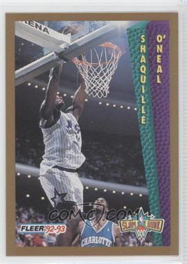 1992-93 Fleer #298 - Shaquille O'Neal