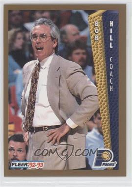 1992-93 Fleer #90 - Bob Hill