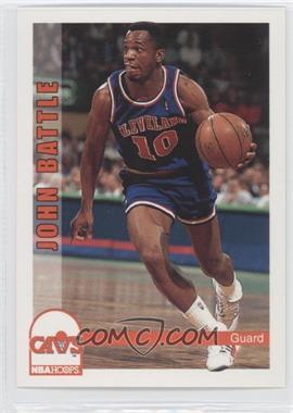 1992-93 NBA Hoops - [Base] #36 - John Battle