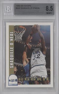 1992-93 NBA Hoops - [Base] #442 - Shaquille O'Neal [BGS 8.5]