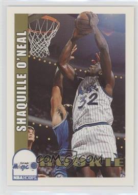 1992-93 NBA Hoops - [Base] #442 - Shaquille O'Neal