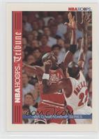 NBA Hoops Tribune Championship Series (Michael Jordan, Clyde Drexler)