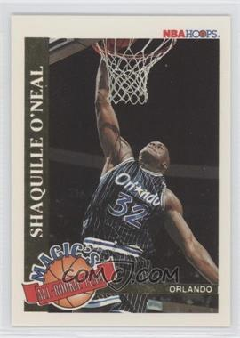1992-93 NBA Hoops Magic's All-Rookie Team #1 - Shaquille O'Neal