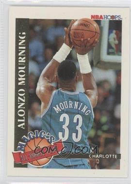 1992-93 NBA Hoops Magic's All-Rookie Team #2 - Alonzo Mourning