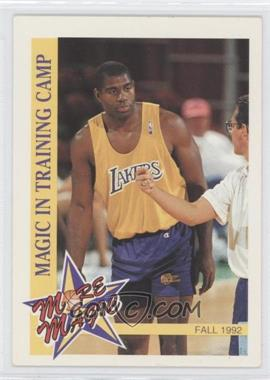 1992-93 NBA Hoops More Magic #MM1 - Magic Johnson