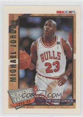 1992-93 NBA Hoops Supreme Court #SC1 - Michael Jordan