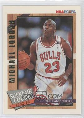 1992-93 NBA Hoops Supreme Court #SC1 - Michael Jordan