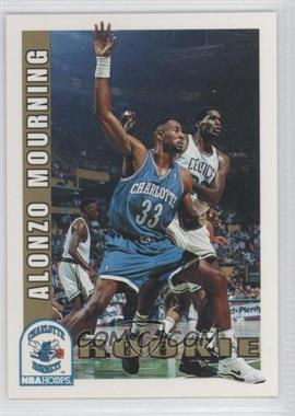 1992-93 NBA Hoops #361 - Alonzo Mourning