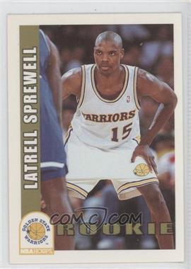 1992-93 NBA Hoops #389 - Latrell Sprewell