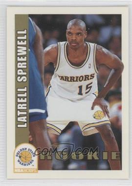 1992-93 NBA Hoops #389 - Latrell Sprewell